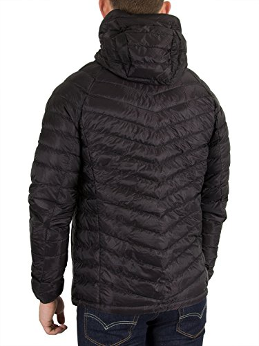 Dark Micro Hooded Navy Jacket Quilt Superdry Down Black TXZ6qq