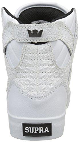 Supra Damen Skytop Sneaker Weißes Leder