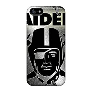 Anti-scratch And Shatterproof Oakland Raiders Phone Case For Iphone 5/5s/ High Quality Tpu Case