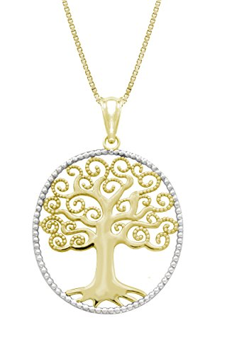 Yellow Gold Necklace Pendant Chain