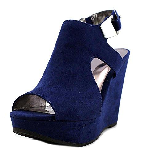 Sandal Malor Women's Santana Blue Carlos by Sapphire Wedge Carlos qZnPZY1O