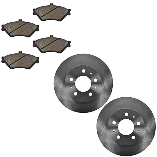 Front Disc Brake Pad & Rotor Kit Set for Crown Victoria ()