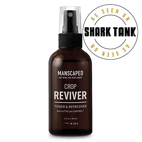 Manscaped Men's Body Toner Spray The Crop Reviver, Cooling Groin Spritz with Aloe Vera, Groin Protection For Men, Odor Guard Protects Against Smells, Features Active pH Control