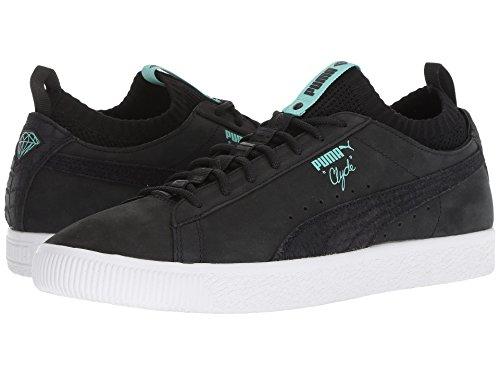 [PUMA(プーマ)] メンズランニングシューズ?スニーカー?靴 Clyde Sock Lo Diamond Puma Black/Puma Black 9.5 (27.5cm) D - Medium