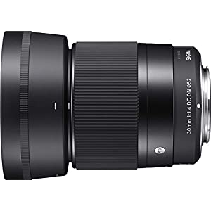 Sigma 30mm F1.4 DC DN Lens for Sony E Mount Bundle w/ 64GB SDXC Memory Card and more