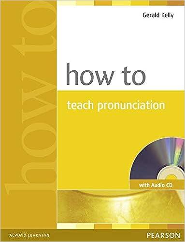 amazon how to teach pronunciation with audio cd teacher