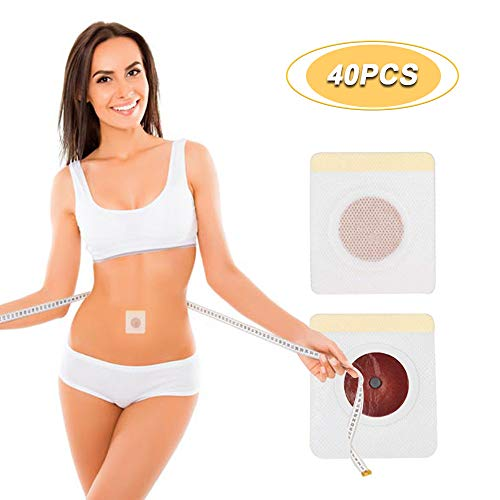40Pcs Weight Loss Stickers, Fat Burning Abdominal Fat Away Sticker, Quick Slimming for Beer Belly, Buckets Waist, Waist Abdominal Fat (Best Beer For Weight Loss)