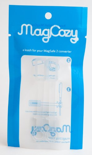 MagCozy Holder for Apple MagSafe to MagSafe 2 Converter, Never Lose a MacBook Pro to MacBook Air Adapter Again, Thunderbolt Display