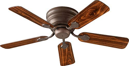 Quorum 75445-86 Transitional Ceiling Fan from Barclay Hugger 44 Collection Dark Finish