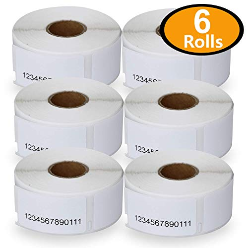 6 Rolls Dymo 30330 Compatible 3/4