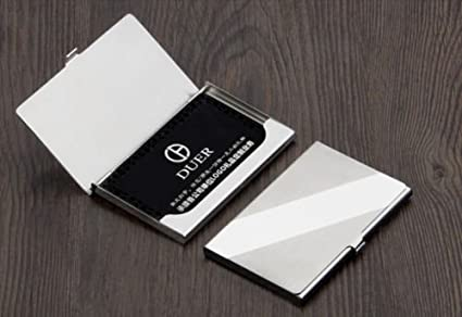 Sm treade hot silver pocket business name credit id card holder sm treade hot silver pocket business name credit id card holder metal box cover case reheart Images