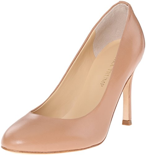 Ivanka Trump Women's Janie Dress Pump, Natural Leather, 10 M US