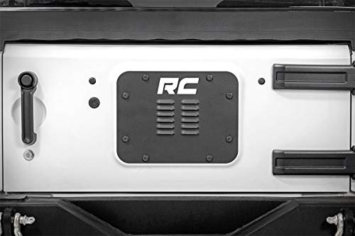 Rough Country Rock Crawling Rear Bumpers Compatible w/ 2007-2018 Jeep Wrangler JK Offroad Armor Rear Bumpers