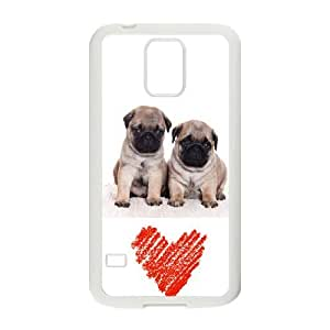 Generic Case World dogs Pug For Samsung Galaxy S5 F6T6663224