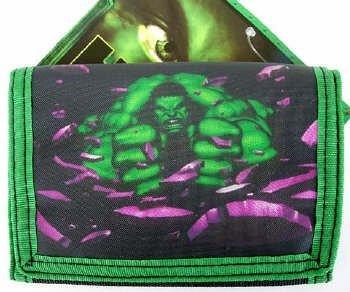 Superhero Hulk Trifold wallet (Coin Purse Superhero)