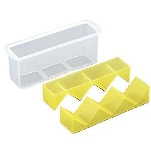 Square Nigiri Sushi Mold Rice Ball Maker Yellow