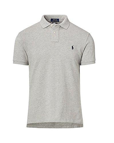 Polo Ralph Lauren Men's Classic Fit Mesh Polo Shirt (Large, Andover - Ralph Fit Lauren Classic Shirt