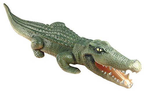 Rehabilitation Advantage Playvisions Float A While Crocodile - Long Inflatable Friendly Pool Predator