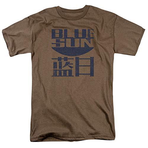 Firefly Blue Sun Logo Sci-Fi TV Show T Shirt & Stickers (Large)