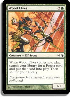 Magic: the Gathering - Wood Elves - Duel Decks: Elves vs Goblins
