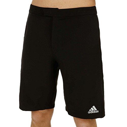 Adidas Men's Tennis Andy Murray Barricade Bermuda-Black/Night Grey (Medium-32)