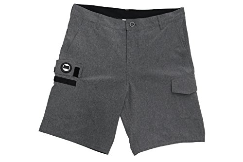 ISLAND DAZE BBO - Mens Bottle Opener Hybrid Golf, Boardshort, Tailgate Quick Dry Swim Shorts by ISLAND DAZE