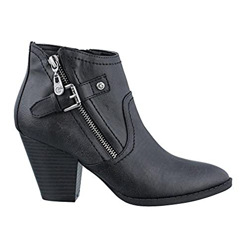 Women's Guess, Profit Ankle Boot BLACK 8.5 M