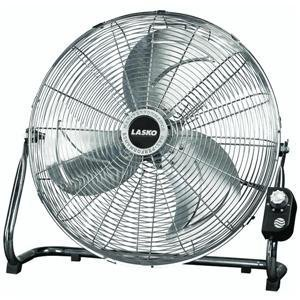 Lasko 2250QM 20 inches Max Performance High Velocity Floor Fan (22 Wall Pivot)