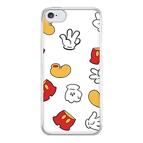 Fun Cases - Mickey Mouse Gloves, Shorts and Shoes - Disney Phone Case - Galaxy S5 Compatible