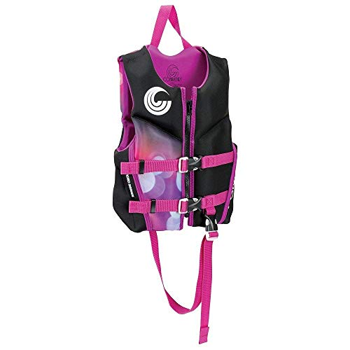 Connelly Classic Child Girl's Neoprene Life Vest, 30-50 lbs