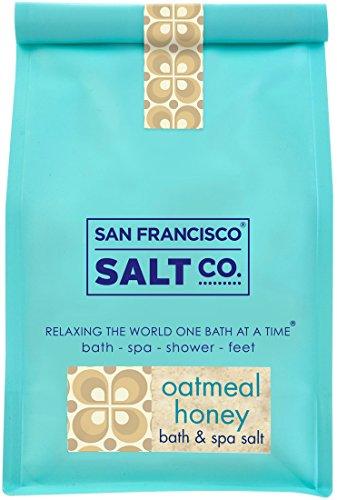 Oatmeal Honey Bath Salts 2lb Bag