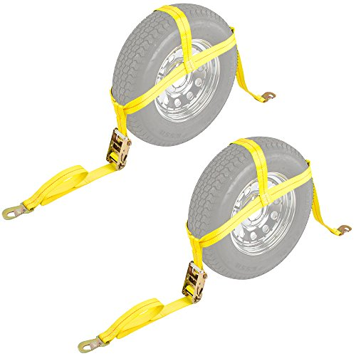 2-Pack-Auto-Hauler-13-16-Wheel-Bonnet-Ratchet-Tie-Down-Strap