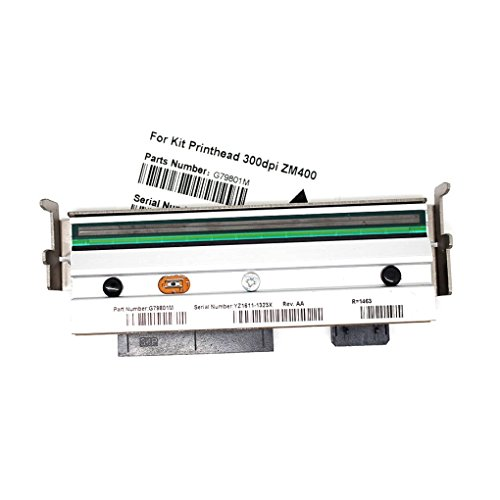 79801M P41001-91 Printhead for Zebra ZM400 Printer 300dpi Thermal Transfer Direct Thermal