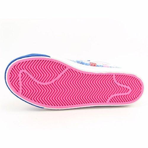 Nike Kvinnor Kavaj Höga Kvinna Gymnastik Vit / Vit-blå-varsity Röd