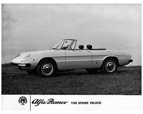 Amazon Com 1970 Alfa Romeo 1750 Spider Veloce Factory Photo