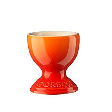 Le Creuset Stoneware Egg Cup, 2-Inch, Flame