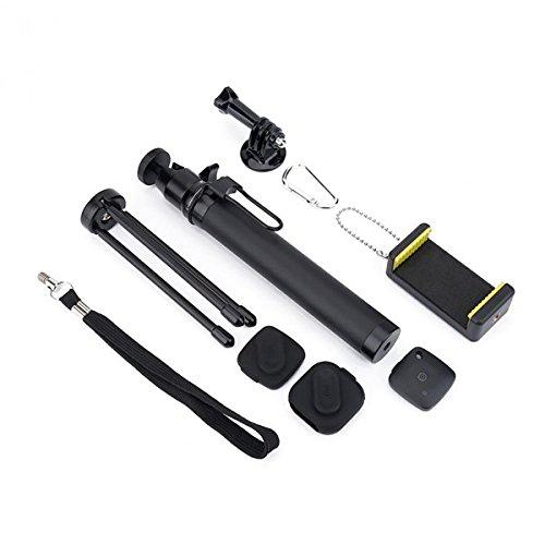 LaDicha Blautooth Remote Extension Rod Kardan Stativhalterung Mit Adapter Für Gopro/Xiao Yi/Sjcam