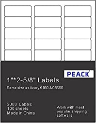 Self adhesive Address Labels for laser / Inkjet Printers, 1\