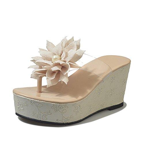 pantofole primavera donna testa fondo spesso seven da Thirty colore rotonda da donna di puro Pantofole 4qBxg1