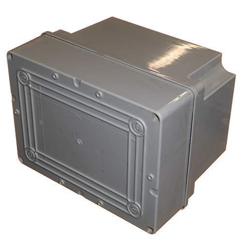 Bo/îte de d/érivation /étanche de 190 mm 190 x 140 x 140 mm IP56 en plastique PVC adaptable pour /éclairage dext/érieur Connexion /électrique