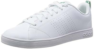 Adidas Advantage Clean Vs, Zapatillas Hombre, Blanco (Ftwbla/Ftwbla/Verde), 39 1/3 EU