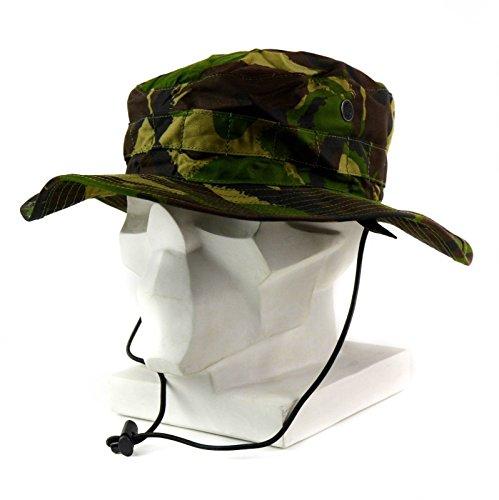 Original British Army boonie cap Sun Bush Hat woodland camo combat DPM  jungle (Medium) - Buy Online in Oman.  1f3faeb1abb