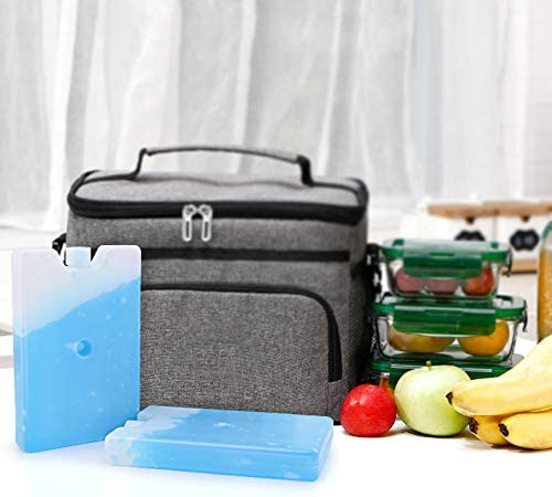Lunch Box Ice Packs Environment Protection, Healthy, BPA-Free Reusable, Refreezable, Keep Foods and Drinks Chill, Quick Freeze Meal in Cooler Lunch Bag, Perfect for Picnic, Camping Outdoor Activities