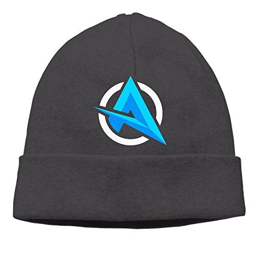 Unisex Letter A Ali-A Logo Beanie Cap Skull Hat -6 (Alias Cap)