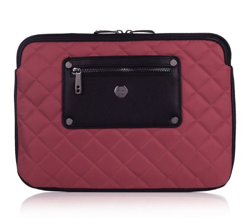 Knomo Laptop Sleeve for 11' MacBook Air and Most 10' Tablets - Teaberry / Rose - 24-055-TBR
