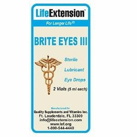 Life Extension Brite Eyes III -- 2 Vials