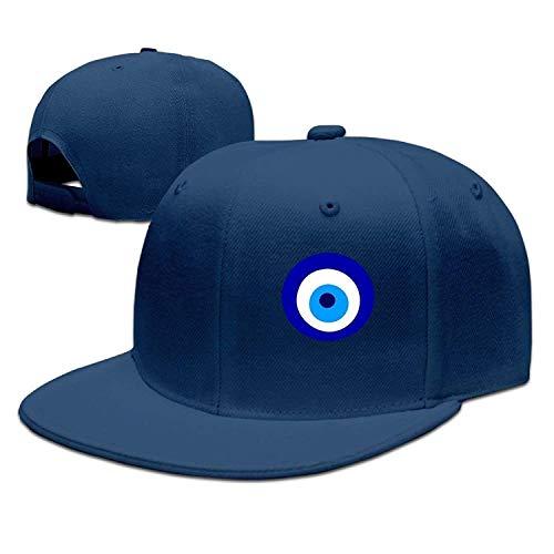 Doaamota Nazar Amulet Evil Eye Protection Visor Hats Cap Classic Snapback Hat