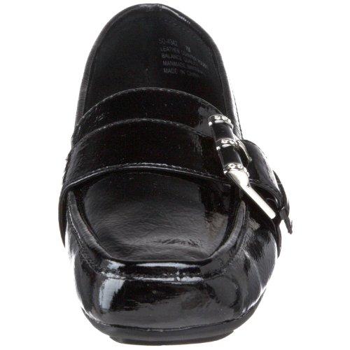 Bella Vita Dames Playmate Ii Loafer Black Crinkle Patent