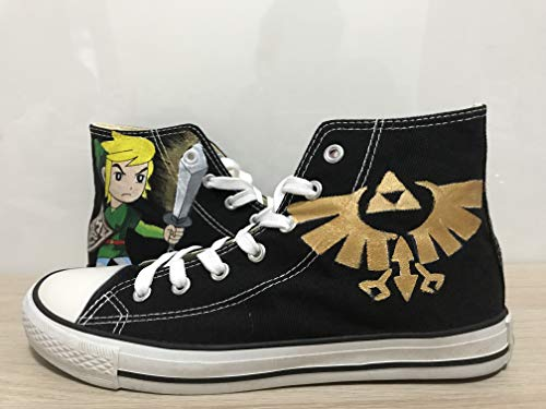 - The Legend of Zelda Custom Shoes For Men Painted Shoes Custom Chuck Taylors Men Women FREE SHPPING