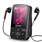 16GB Clip MP3 Player with Bluetooth 4.0, AGPTEK A50S Lossless Sound Music Player